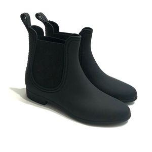 Jeffrey Campbell Women's Size 8 Black Rain Boots